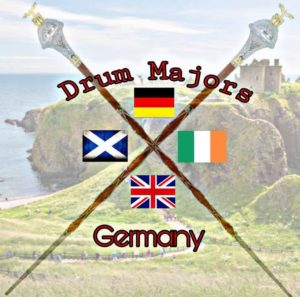 Drum Majors Germany Logo